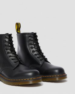 DR MARTENS STIVALI 1460 SMOOTH BLACK