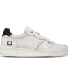 DATE SNEAKERS COURT LEATHER WHITE-BLACK