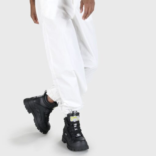 BUFFALO Aspha NC MID Lace Up Sneaker, black