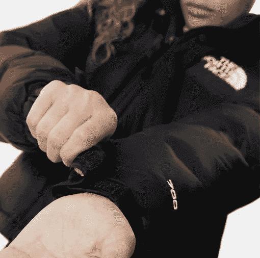 THE NORTH FACE GIACCA CORTA DONNA NUPTSE (black)