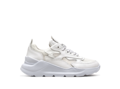 D.A.T.E. SNEAKERS FUGA PATENT WHITE