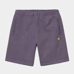 CARHARTT Chase Sweat Short Provence/Gold