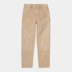 CARHARTT WIP Double Knee Pant (DUSTY H BROWN WORN CANVAS)