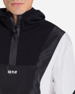 ICE PLAY Hoodie con inserti color-block