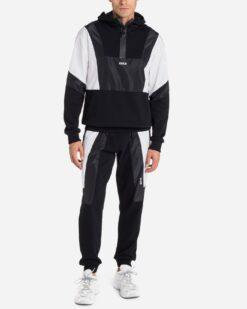 ICE PLAY Pantalone sportivo con inserti in nylon