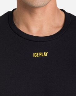 ICE PLAY Felpa con maxi logo posteriore