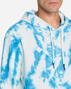 "ICE PLAY Hoodie effetto ""Tie & Dye"""