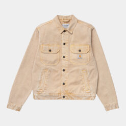 CARHARTT wip Stetson Jacket (Dusty H Brown worn washed)
