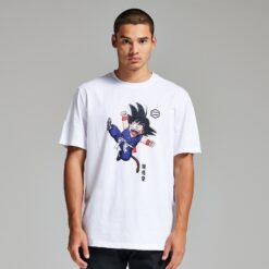 DOLLY NOIRE X Dragon Ball Son Goku T-SHIRT (white)