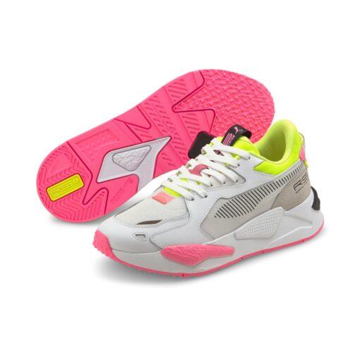 PUMA RS-Z POP woman white/yellow/pink
