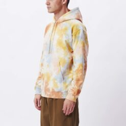 OBEY MINI BOLD RECYCLED TIE DYE PULLOVER HOOD
