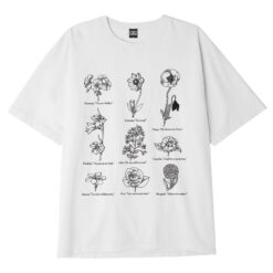 OBEY Clothing FLOWER PACKET HEAVYWEIGHT T-SHIRT