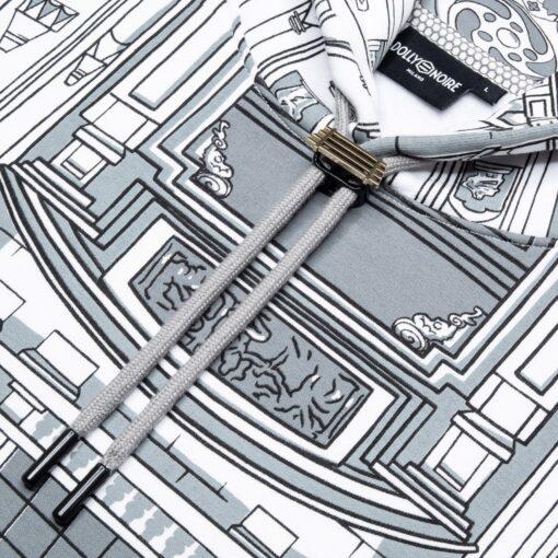 DOLLY NOIRE Bench Duomo Rovesciato H Over White Gray