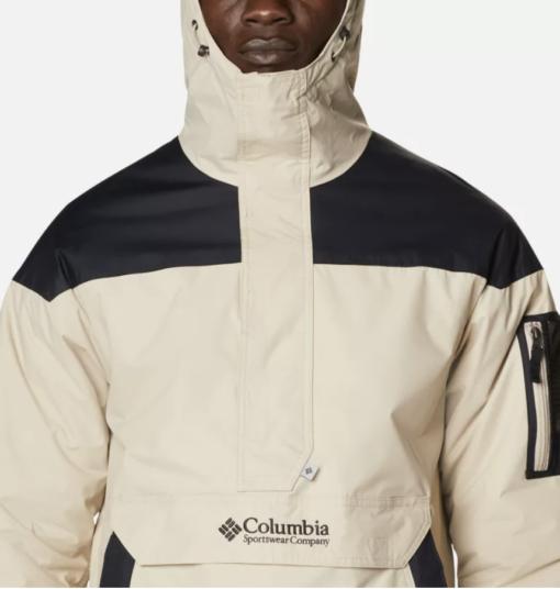 COLUMBIA Giacca a pullover Challenger da uomo (ancient fossil/black)