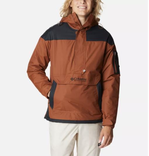 COLUMBIA Giacca a pullover Challenger da uomo (dark amber/black)