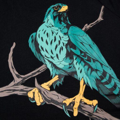 DOLLY NOIRE Falco Pellegrino Hoodie Black