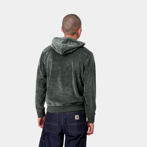 CARHARTT WIP Hooded United Script Sweatshirt (slate)